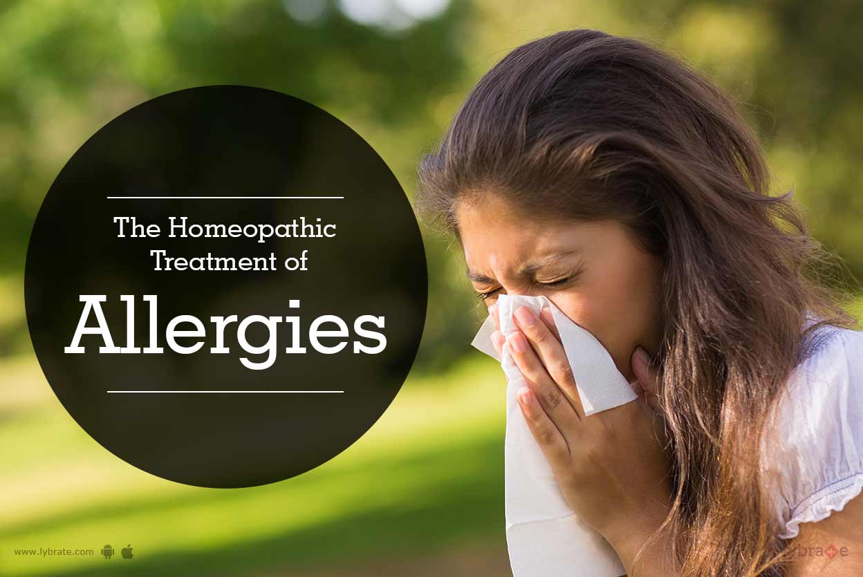 The Homeopathic Treatment of Allergies - By Dr. Pramod Sharma   Lybrate