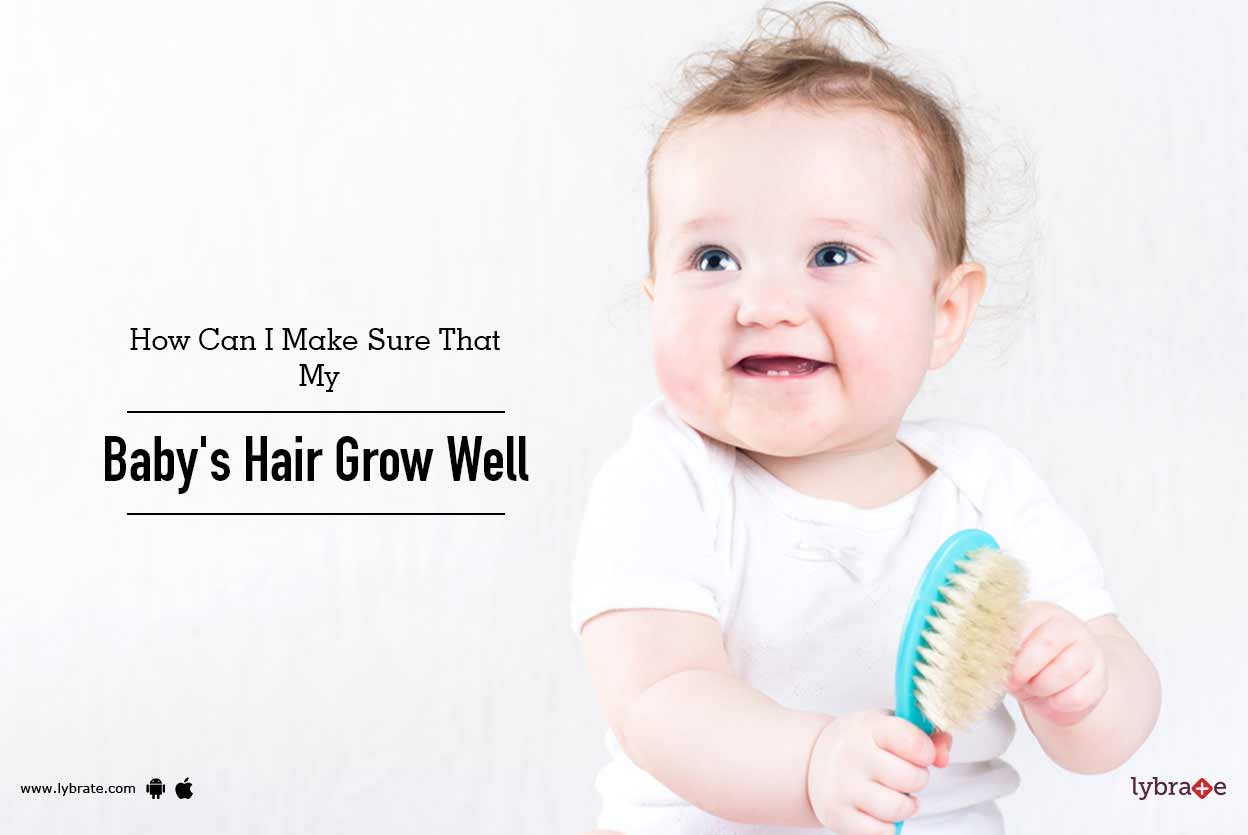 how to make newborn hair grow