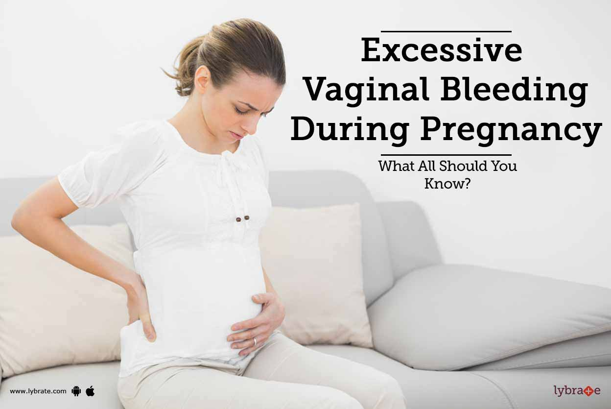 Bleeding from the vagina during pregnancy 8