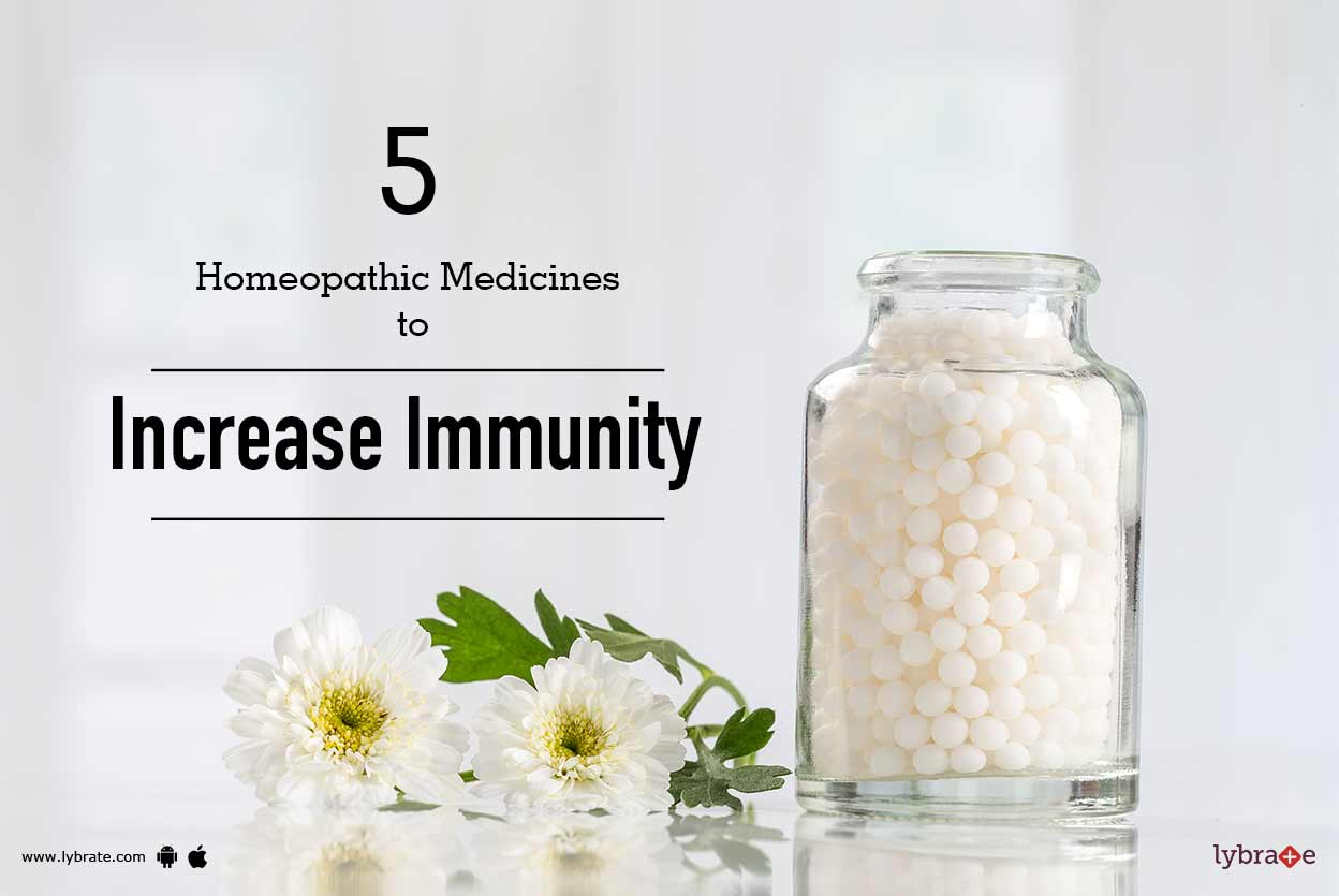 5 Homeopathic Medicines To Increase Immunity By Dr Harjot Kaur