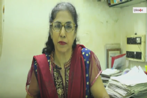 My name is Dr. Asha Khatri. I had passed MD in 1977 and obstetrics and gynecology from Pandit LNM...