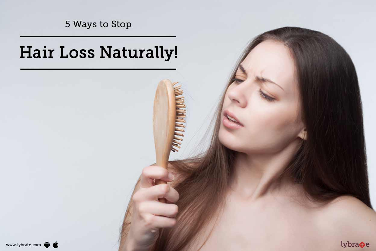 5 Ways to Stop Hair Loss In Its Tracks