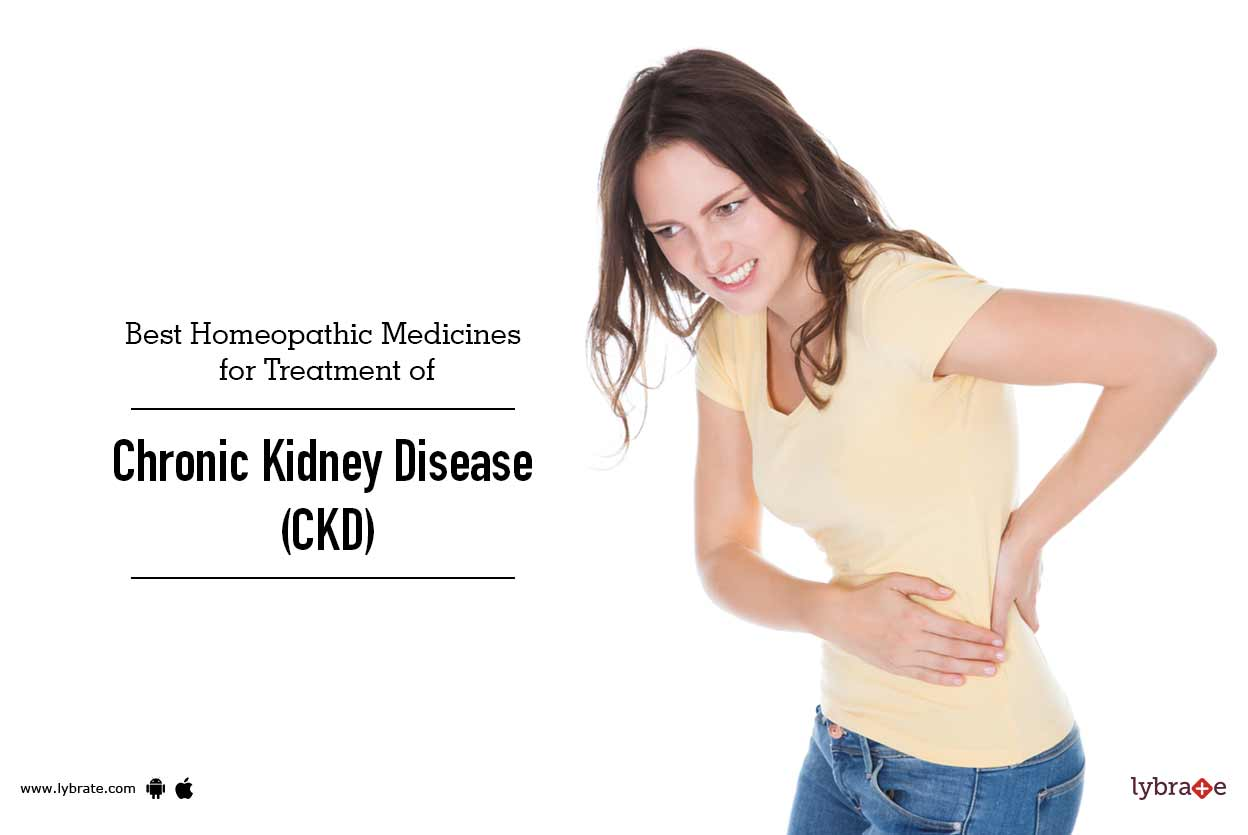 Best Homeopathic Medicines for Treatment of Chronic Kidney