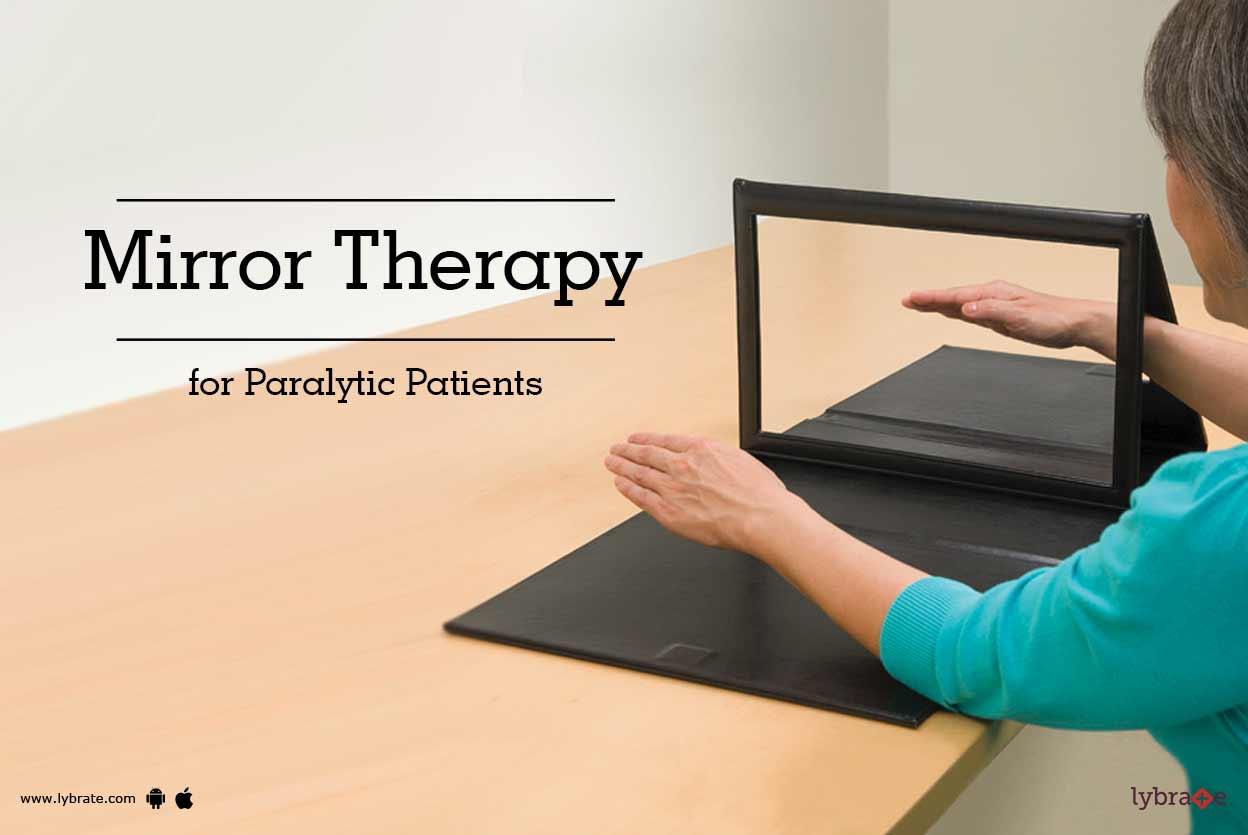 Mirror Therapy For Paralytic Patients By Dr Iram