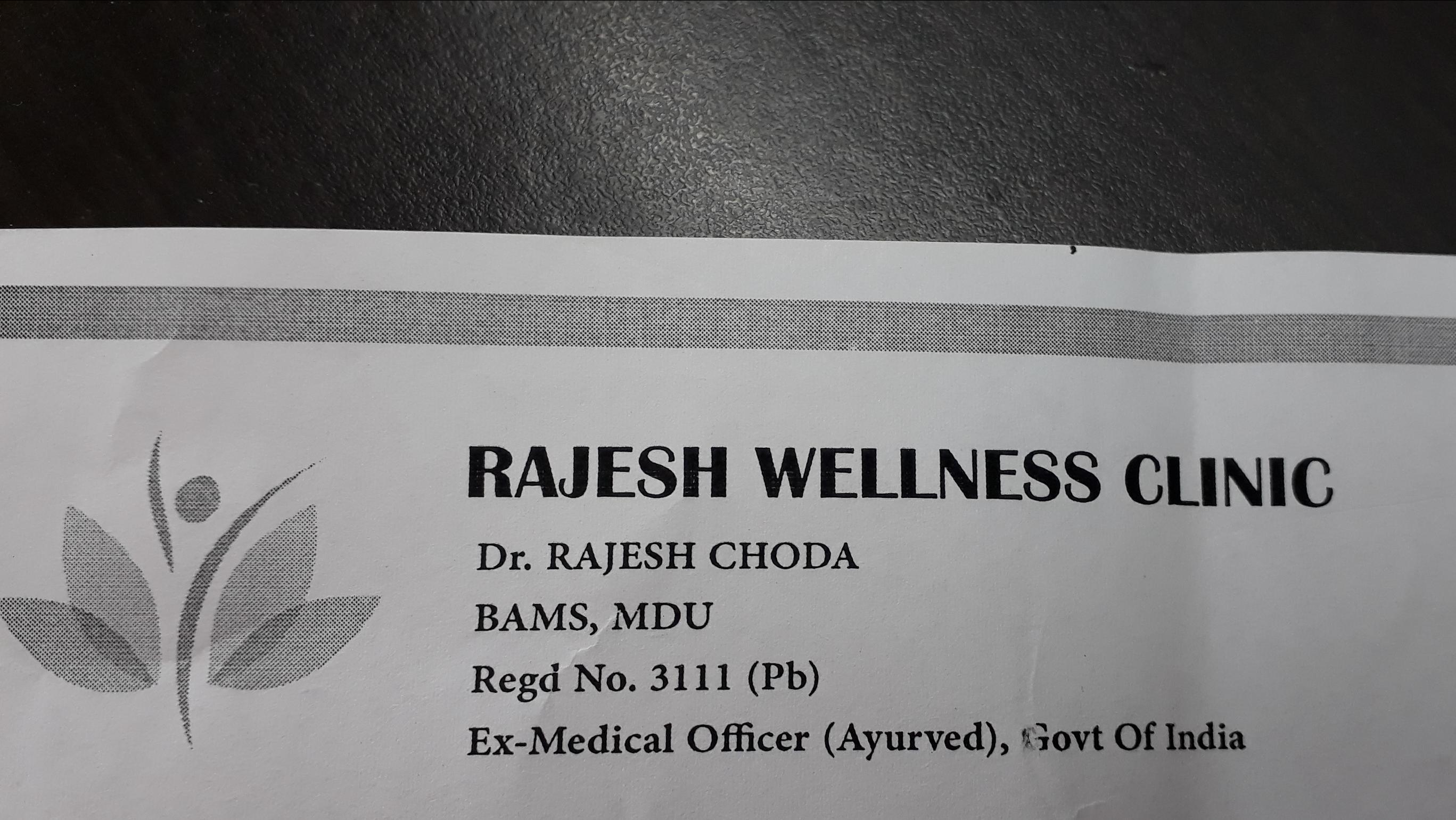 Rajesh Wellness Clinic, Zirakpur Mohali (CHANDIGARH REGION)