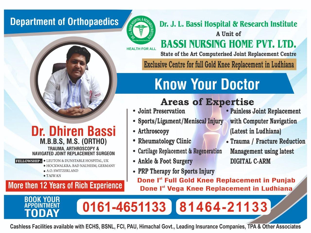 Orthopedic Doctor in Ludhiana   Best Orthopedic Doctor   New Top ...