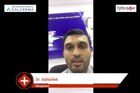 Lybrate | Dr Abhishek speaks on IMPORTANCE OF TREATING ACNE EARLY --