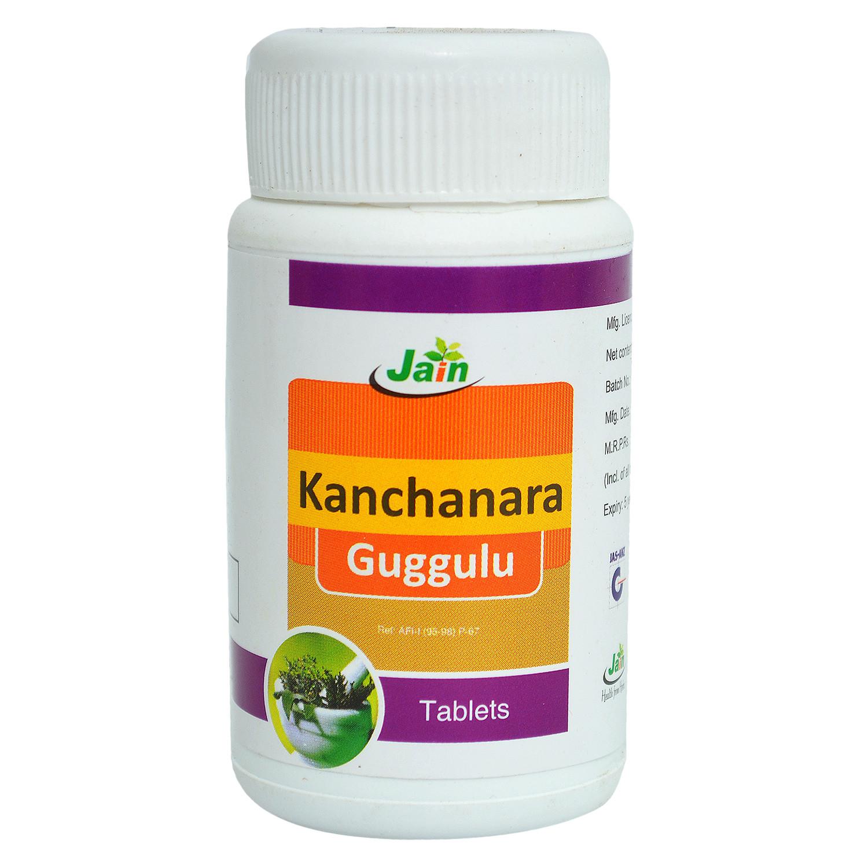 Jain Kanchanara Guggulu Tablet: Find Jain Kanchanara Guggulu