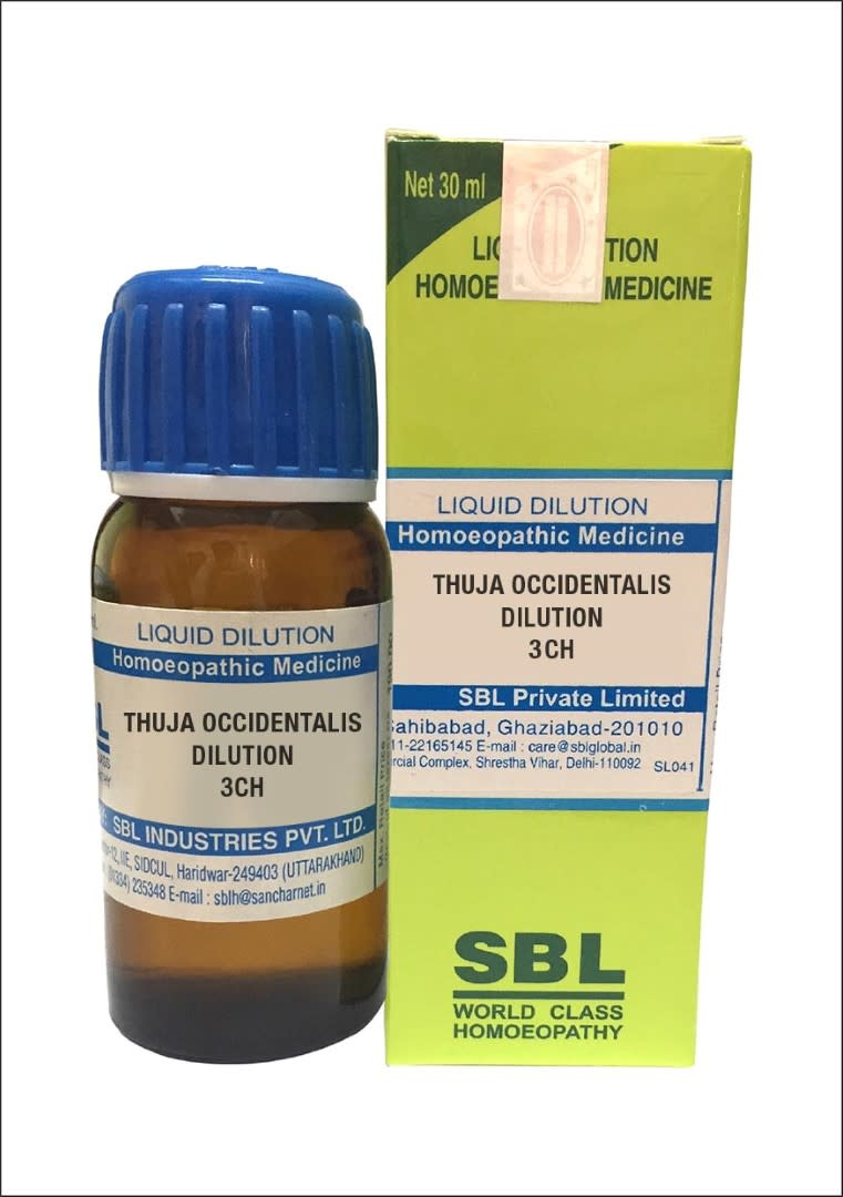 SBL Thuja Occidentalis Dilution 3CH