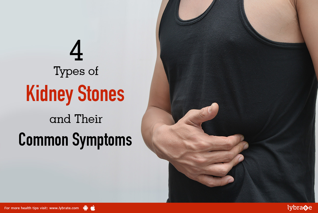 4 Types Of Kidney Stones And Their Common Symptoms By Dr