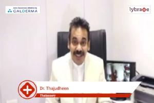 Lybrate   Dr. Thajudheen speaks on importance of treating acne early