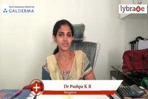 Lybrate | Dr. Pushpa k r speaks on importance of treating acne early.