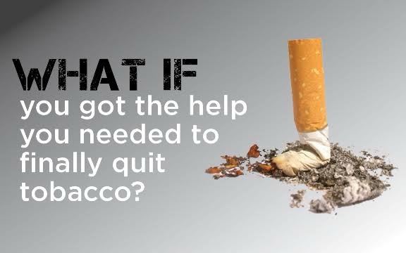 get help for quitting smoking and chewing tobacco