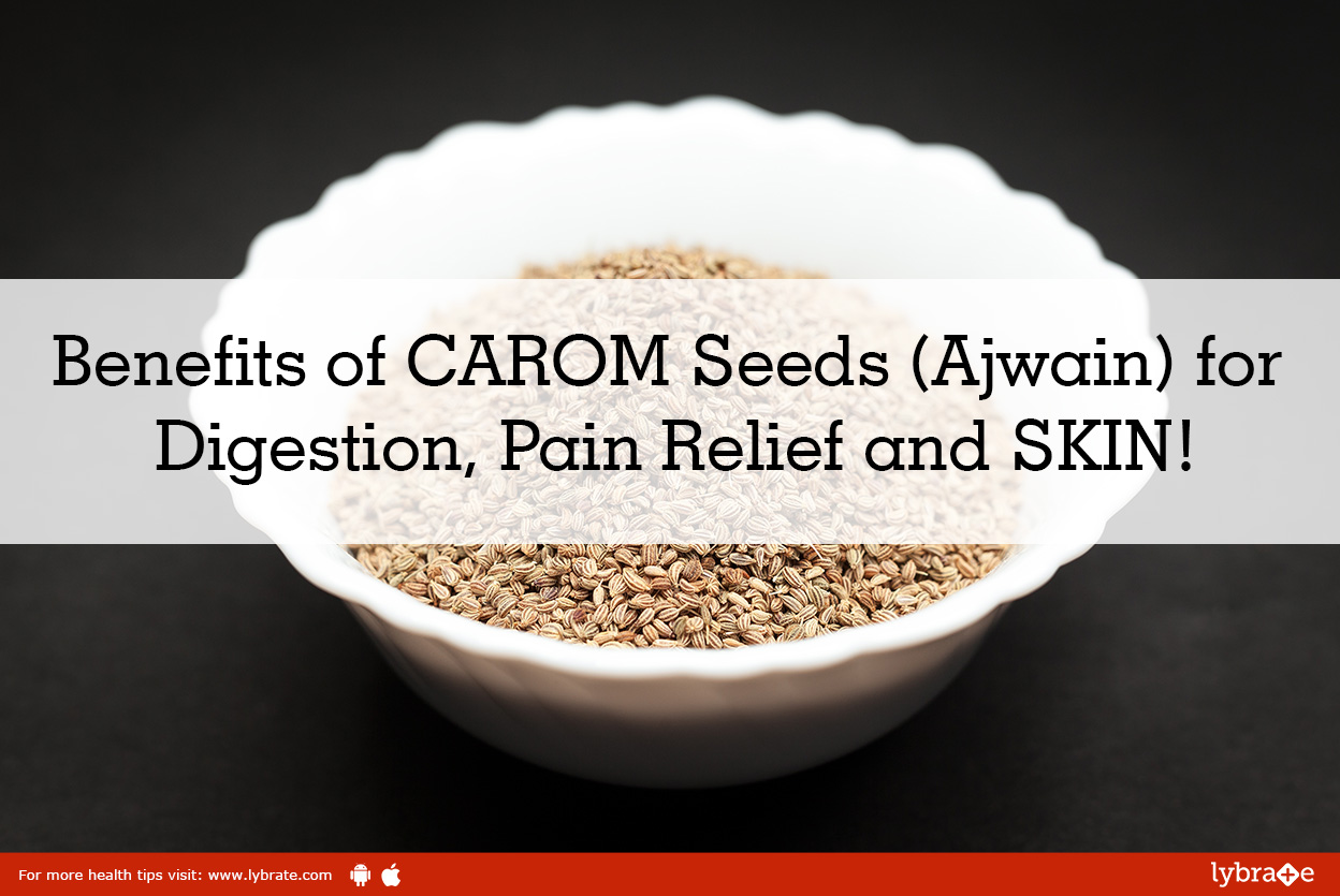 Benefits of carom seeds (ajwain) for digestion, pain relief, and skin!<br/><br/>Carom is a promin...
