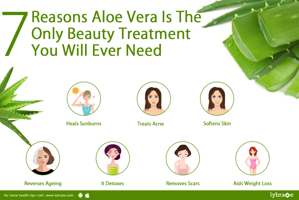 7 Reasons Aloe Vera Is Only Beauty Treatment You Ever Need