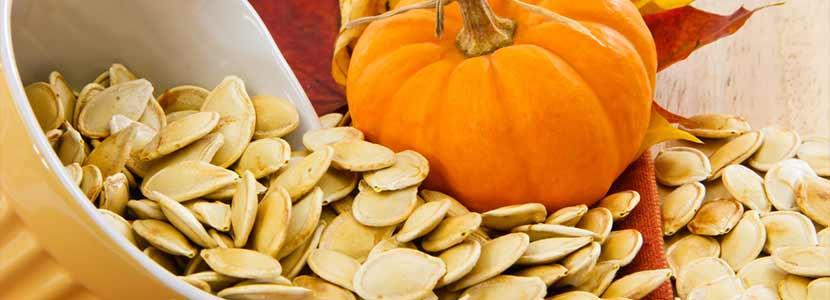 Masturbation with pumpkins