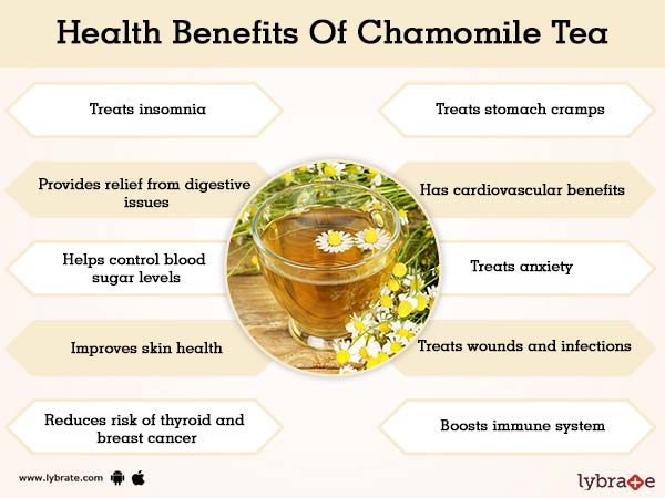 Benefits of Chamomile Tea And Its Side Effects
