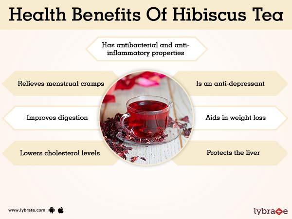 Benefici del tè di ibisco e dei suoi effetti collaterali Lybrate-1405