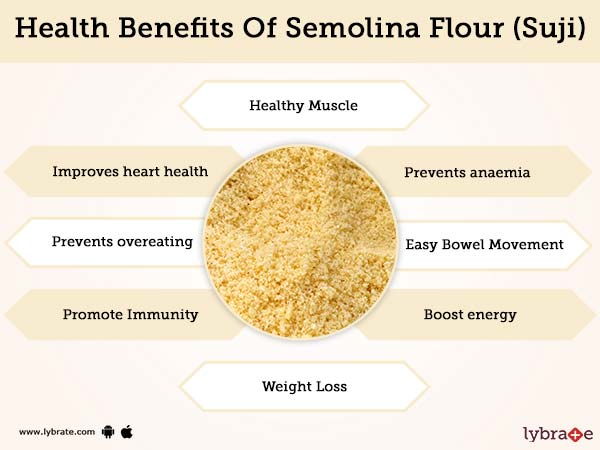 Semolina Flour (Suji) Benefits And Its Side Effects | Lybrate