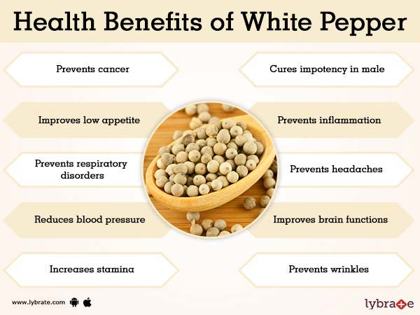 White Pepper Benefits And Its Side Effects Lybrate