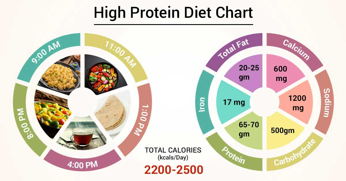 what is a good high protein diet