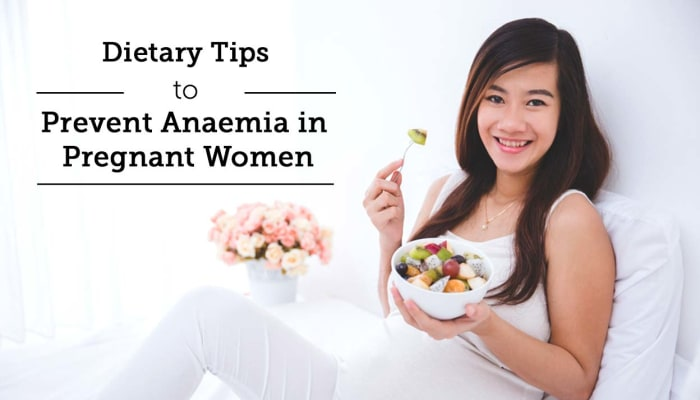 Dietary Tips to Prevent Anaemia in Pregnant Women