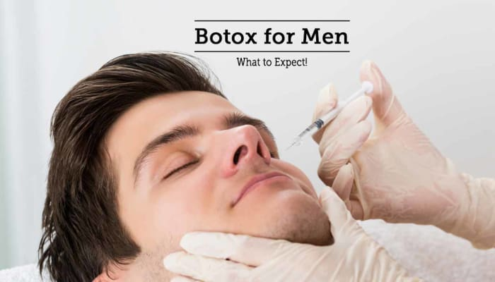 Botox for Men - What to Expect!!