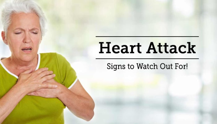 Heart Attack - Signs to Watch Out For!