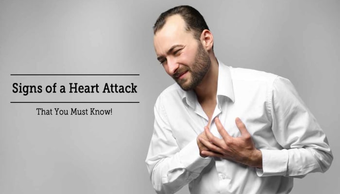 Signs of a Heart Attack That You Must Know!
