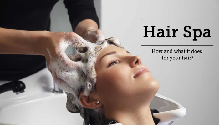 Hair Spa - How and what it does for your hair?