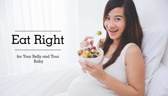 Eat Right for Your Belly and Your Baby