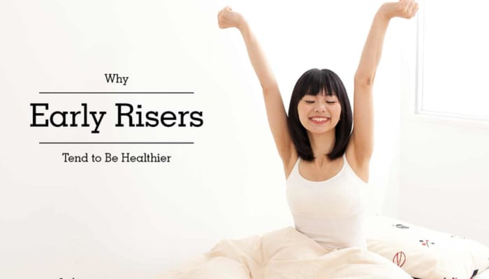 Why Early Risers Tend to Be Healthier