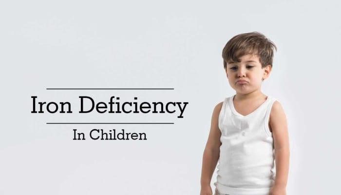 Iron Deficiency In Children