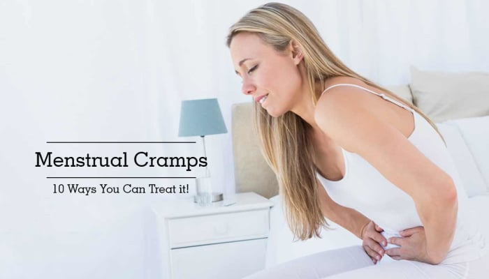 Menstrual Cramps - 10 Ways You Can Treat it!
