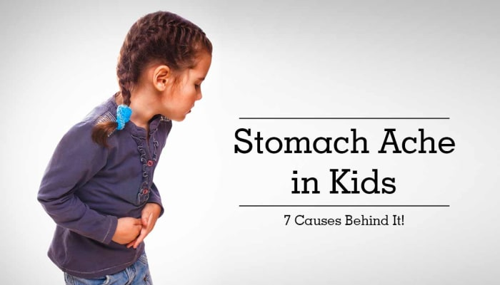 Stomach Ache in Kids - 7 Causes Behind It!
