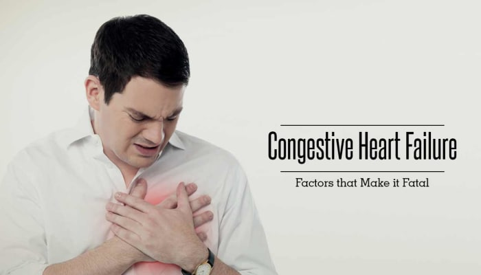 Congestive Heart Failure - Factors that Make it Fatal