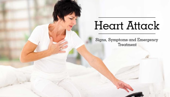 Heart Attack - Signs, Symptoms and Emergency Treatment
