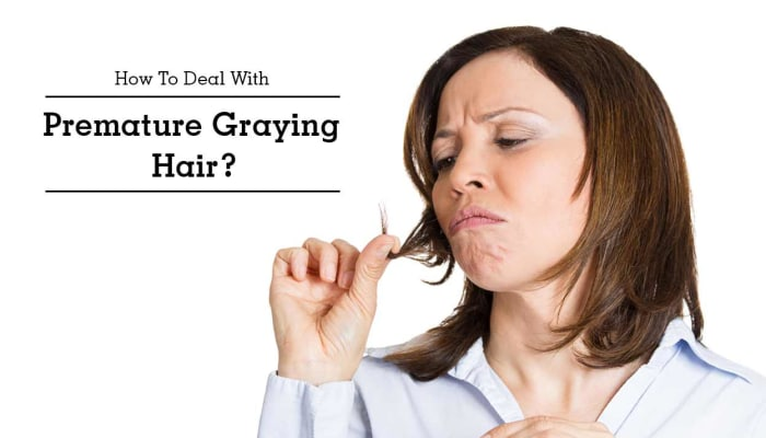How To Deal With Premature Graying Hair?