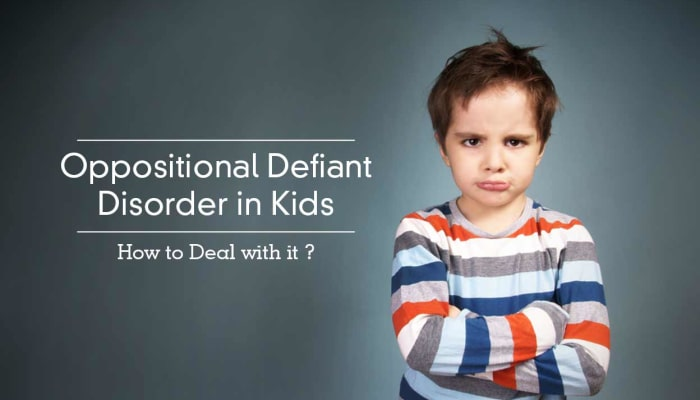 Oppositional Defiant Disorder in Kids - How to Deal with it ?