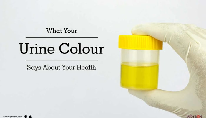 What Your Urine Colour Says About Your Health