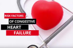 No one can predict if you can develop congestive heart failure. However, there are certain risk f...