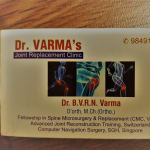 dr varma joint replacement clinic48 | Lybrate.com