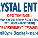 Adiviv Crystal  ENT Care, Noida