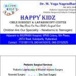 Happy Kidz Pediatric Surgery & Laparoscopy Clinic, Hyderabad