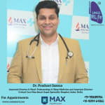 Dr. Prashant Saxena OPD @ Max Super Speciality Hospital,West Block | Lybrate.com