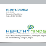 HEALTHY MINDS - Advanced Neuropsychiatric Clinic & Counselling Center | Lybrate.com