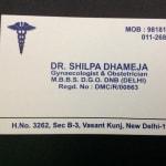 Dr Shilpa Dhameja's Clinic   Lybrate.com