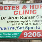 Diabetes and Hormone Clinic, Delhi