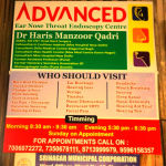 Advanced Ear Nose Throat Endoscopy Center, Srinagar