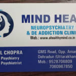 Mind Heal, Neuro-psychiatry and De-addiction Clinic | Lybrate.com